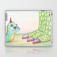 Wormrah the 'giant' monster. Laptop & iPad Skin