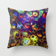 Space Traffic Throw Pillow
