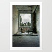 Chernobyl - номер I… Art Print
