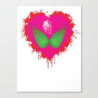 Lovebomb-iiis - élan Vi… Canvas Print