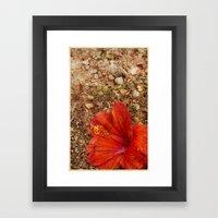 I Want Your Flowers Framed Art Print