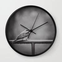 Endure Wall Clock