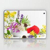 Des herbes naturelles Laptop & iPad Skin