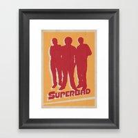 Superbad Movie Poster Framed Art Print