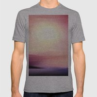 Sunset In September. Mens Fitted Tee Athletic Grey SMALL
