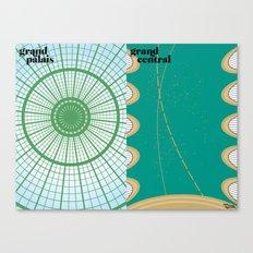 le toit Canvas Print
