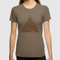 Triangulation Womens Fitted Tee Tri-Coffee SMALL