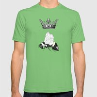 Queen Bee Mens Fitted Tee Grass SMALL
