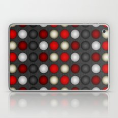 Dark Romance Polka Laptop & iPad Skin