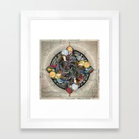 Queens Of The Elements Framed Art Print