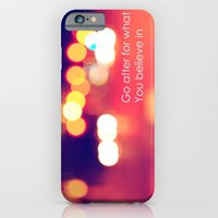 iPhone & iPod Case featuring Believe by Mercedes Lopez