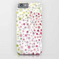 Tiny flowers iPhone 6 Slim Case