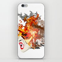 Fire- from World Elements Series iPhone & iPod Skin