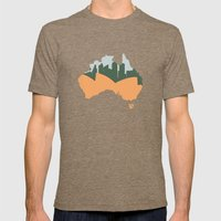 Sydney - Australia Mens Fitted Tee Tri-Coffee SMALL