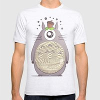 Our Strange Neighbor Mens Fitted Tee Ash Grey SMALL