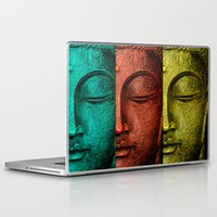 buddha Laptop & iPad Skins featuring buddha by mark ashkenazi