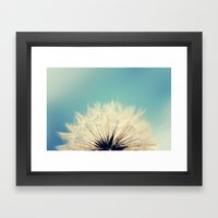 She's a Firecracker Framed Art Print