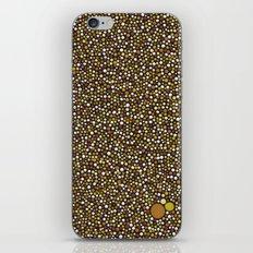 Yellow Dot Color Design iPhone & iPod Skin
