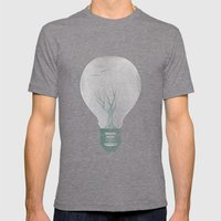 Ideas Grow 2 Mens Fitted Tee Tri-Grey SMALL