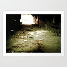 Out of Sight Art Print