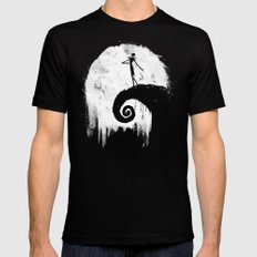 All Hallow's Eve SMALL Mens Fitted Tee Black