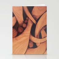 Abstract Fantasy Marquet… Stationery Cards