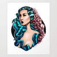 Flora (Color) Art Print