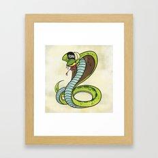 Bronx Zoo Cobra! Framed Art Print