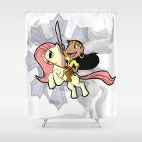 My Lil Gabby v2 Shower Curtain