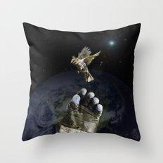 freeing Throw Pillow
