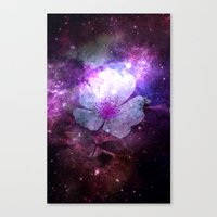 FLOWER IN THE UNIVERSE Canvas Print