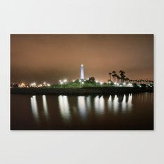 The Light of Long Beach Canvas Print