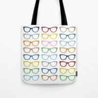 Glasses #3 Tote Bag