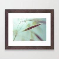 Last straw Framed Art Print