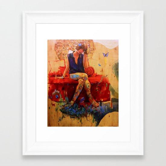Polain Framed Art Print