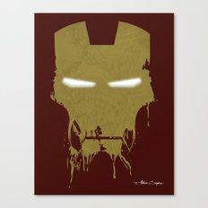 Iron Dirty Man Canvas Print