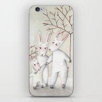 Bunnies iPhone & iPod Skin