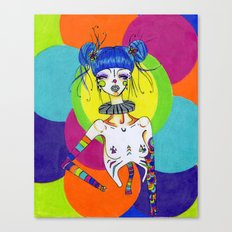 Clown Canvas Print