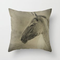 AMERICAN MUSTANG Throw Pillow