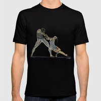 Dancers Mens Fitted Tee Black SMALL