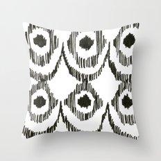 Ikat Sketch Throw Pillow