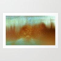 Lagoa I Art Print