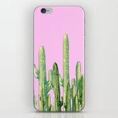 cactus green iPhone & iPod Skin
