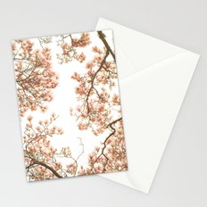 Magnolia Tree Looking Up Stationery Cards