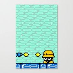 Minion's Last Rites: Mega Man's Metool Canvas Print