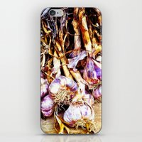 Garlic iPhone & iPod Skin