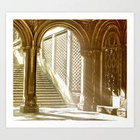 Central Park Architecture Art Print