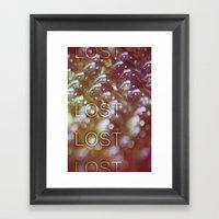 I've Lost Them  Framed Art Print
