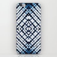Diamonds Indigo iPhone & iPod Skin