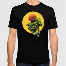 Scaph Black SMALL Mens Fitted Tee